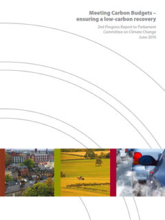 Meeting Carbon Budgets – ensuring a low-carbon recovery - 2nd progress report