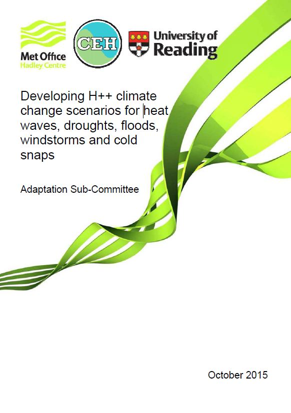 H++ scenarios report cover